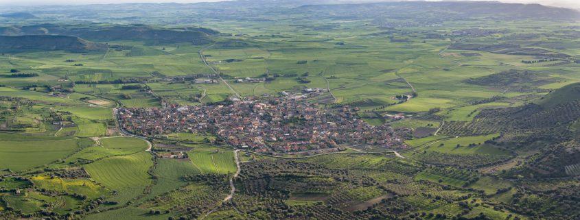 foto aerea effettuata con drone