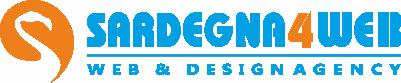 Logo Sardegna4Web web design Cagliari