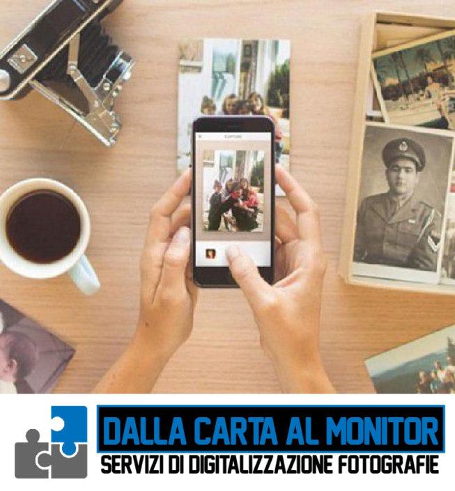Servizio di Digitalizzazione Foto Cagliari Sardegna