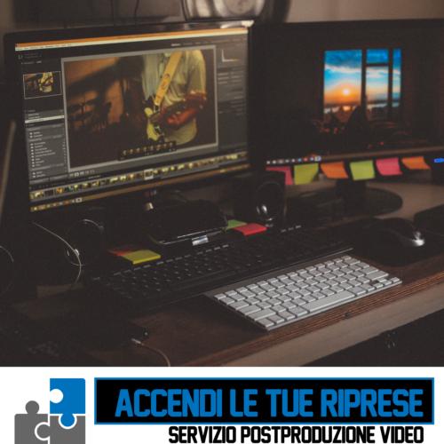 Servizi di Post-Produzione Video Base Cagliari Sardegna