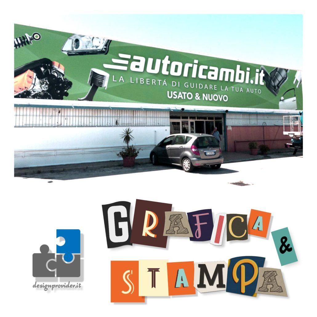 Stampa Grafica Professionale, Banner PVC, Manifesti, Striscioni, Volantini, Biglietti da visita | Design Provider | Cagliari - Sardegna